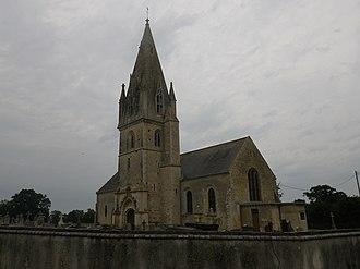 Bricqueville - The church in Bricqueville