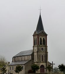The church of Gardères