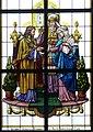 Eisgarn Kollegiatskirche - Fenster 3 Vermählung Mariens.jpg