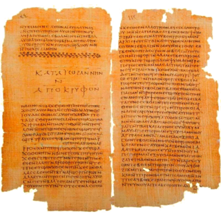 <i>Gospel of Thomas</i> Coptic-language early Christian non-canonical gospel, part of the Nag Hammadi library