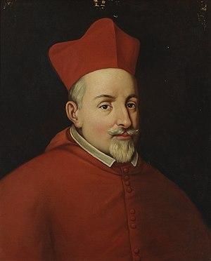 Alfonso de la Cueva, 1st Marquis of Bedmar - Cardinal Alfonso de la Cueva, marqués de Bedmar. (Museo del Prado).