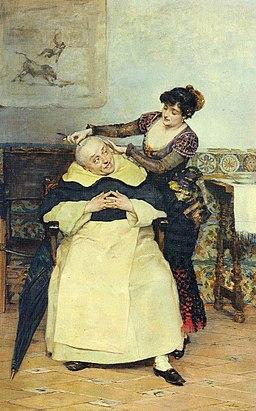 El corte de cabello Vicente Palmaroli
