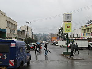 John Kituyi - Street scene in Eldoret, Kenya.