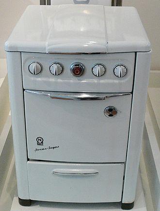 "Neff GmbH - 1957 cooker ""Arcus super"""