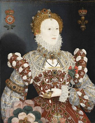 Tudor rose - Image: Elizabeth 1
