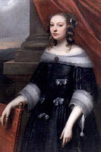 1652 in Sweden - Elsa Beata Brahe c 1652 by David Beck