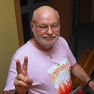 Taking Woodstock - Elliot Tiber is the author of the memoir on which the movie is based (Bologna, June 2009).