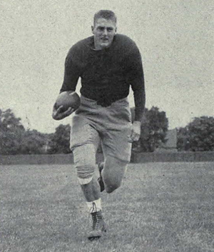 1943 Michigan Wolverines football team - Elroy Hirsch from the 1944 Michiganensian