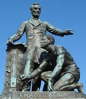 <i>Emancipation Memorial</i> artwork by Thomas Ball
