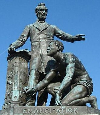 Lincoln Park (Washington, D.C.) - Image: Emancipation Memorial
