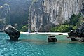 Emerald tropical lagoon in Phang Nga Bay, Thailand.jpg