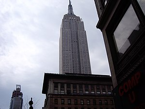 1931 in television - October 30: NBC on Empire State Building which had opened during May 1931.