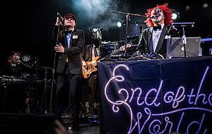 Sekai no Owari - SEKAI NO OWARI performing as support act to Clean Bandit in 2016.