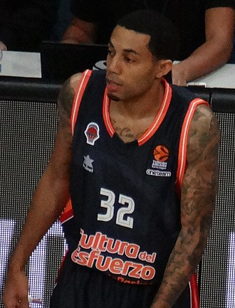 Erick Green - Green with Valencia in 2017
