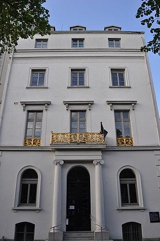 Hamburg Wallring - One of the Neoclassical terraces at Esplanade