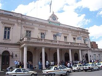Tucumán Mitre railway station - Image: Estación de Trenes Ferrocental (San Miguel de Tucumán)
