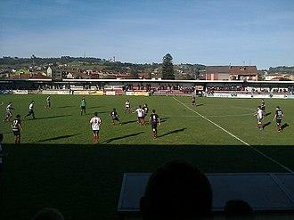 UD Gijón Industrial - Estadio Santa Cruz, during the 2012 local derby against UC Ceares.