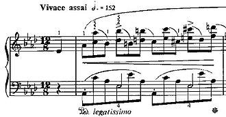 Études (Chopin) - Image: Etude Op 10N10