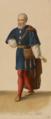 Eugène Du Faget - Costume designs for Guillaume Tell - 1. Nicolas Levasseur as Walter Furst.png