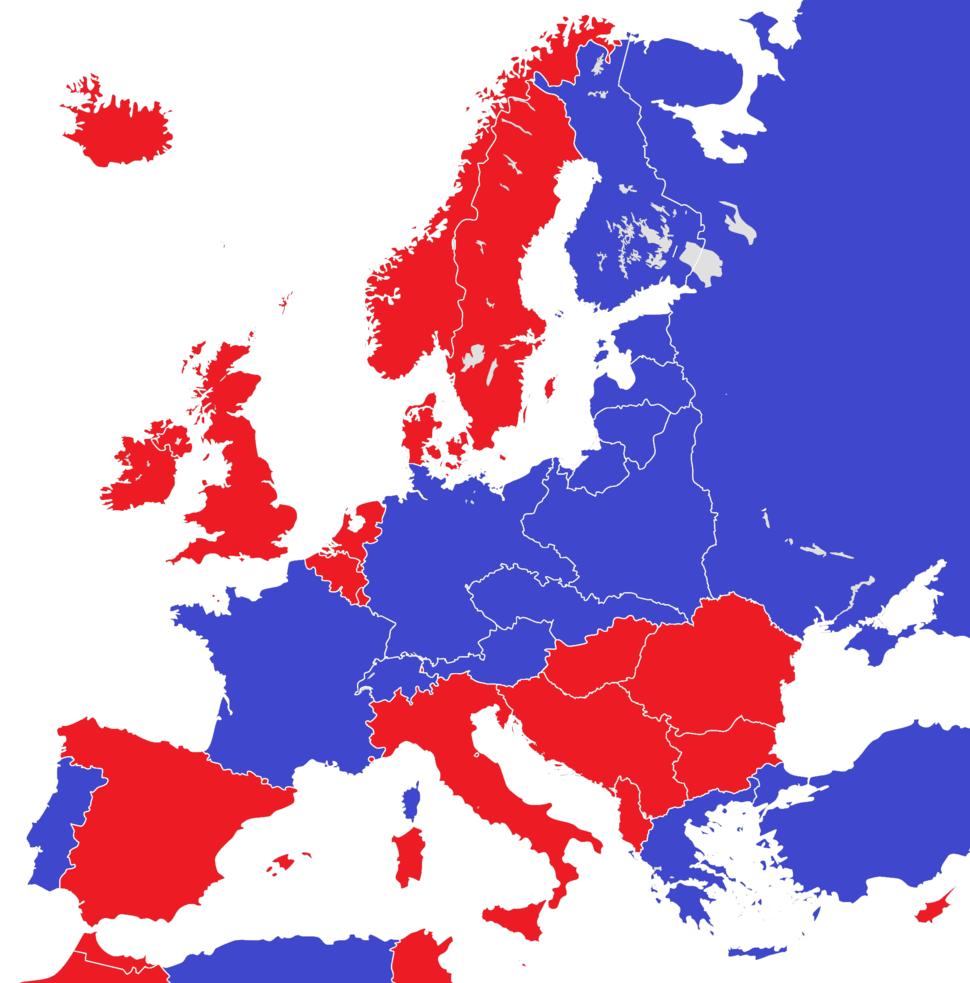 Europe 1930 monarchies versus republics