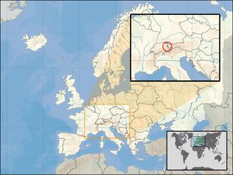 2008 Liechtenstein tax affair - location of Liechtenstein