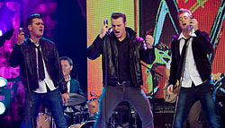 European Border Breakers Awards 2011 - Public Choice Award winners The Baseballs - by René Keijzer.jpg