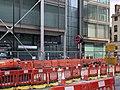 Euston Square station entrance August 2020.jpg