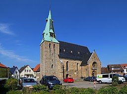 This is a photograph of an architectural monument.It is on the list of cultural monuments of Westerkappeln, no. 10