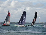 Extreme 40 racing at Cowes Week 2011 14.JPG