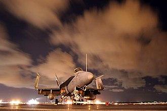 VFA-113 - Image: FA 18C Hornet on deck of USS Ronald Reagan