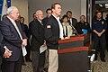 FEMA - 33653 - Governor Schwarzenegger at the podium in California.jpg