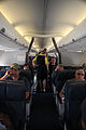 FEMA - 37749 - Residents inside an airplane being evacuated from Louisiana.jpg
