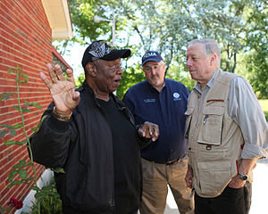 Phil Bredesen - Bredesen meeting with FEMA administrator Craig Fugate (back)