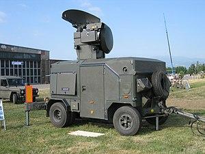 Oerlikon GDF - An Oerlikon Contraves Skyguard Radar of the Austrian Air Force