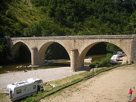 Bridge over the Tarn River in La Malène