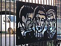 Faces on a Fence (Royal Mint St) - geograph.org.uk - 253583.jpg