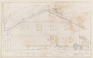 Fachada de uma casa