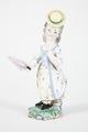 Fajans, figur, 1800-tal - Hallwylska museet - 90411.tif