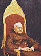 Fakhruddin Ali Ahmed 1977 stamp of India (cropped).jpg