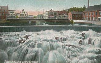 McIntosh College - Falls on the Cocheco River in Dover, New Hampshire