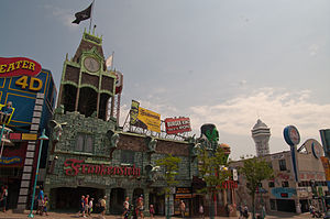 Clifton Hill, Niagara Falls - The House of Frankenstein