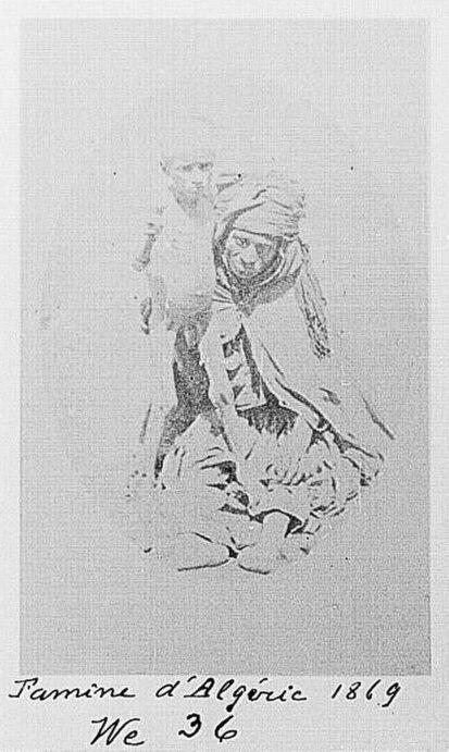 Famine in Algeria 1869