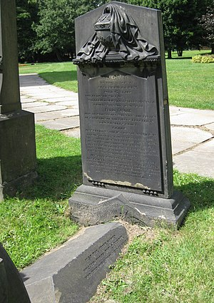 Pablo Fanque - Graves of Susannah and William Darby