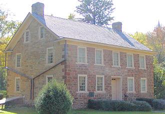 Jean-Baptiste Faribault - His home in Mendota, Minnesota