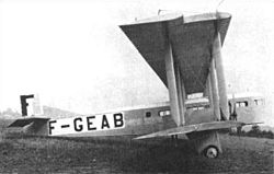 Photograph of a Farman F.60 Goliath