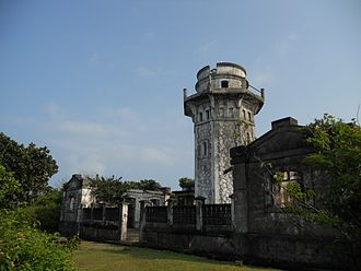 Cape Engaño (Luzon) - The lighthouse at Cape Engaño