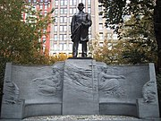 Farragut Monument at Madison Square in New York City