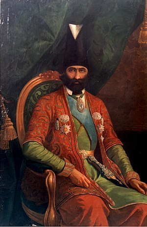Farrokh Khan - Painting of Farrokh Khan