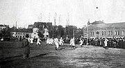 Erstes Fußballwettspiel gegen Bayern München 1901
