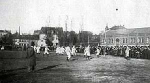 FC Bayern Munich - The first game of FC Bayern Munich against 1. FC Nürnberg in 1901